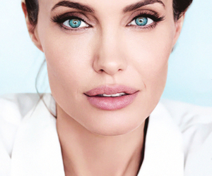 Angelina Jolie, eyes, and beauty image