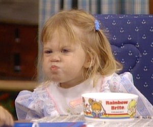 child, full house, and girl image