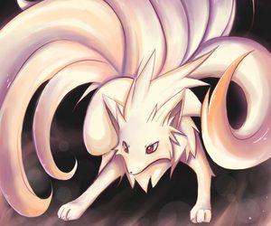 pokemon, ninetales, and fire image