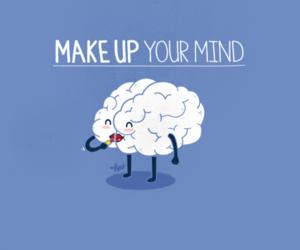 mind, funny, and make up image
