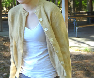 1950s, for sale, and beige sweater image