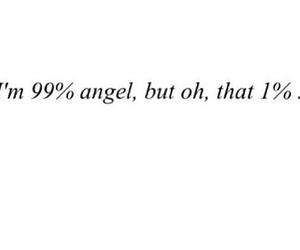 angel, bad girl, and dark side image