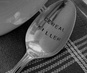 cereal, funny, and killer image