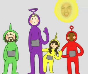 music, smile, and teletubbies image