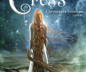 cress, marissa meyer, and lunar chronicles image