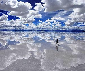 sky, Bolivia, and clouds image