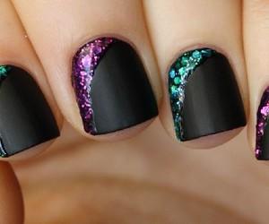 black, nails, and perfect image