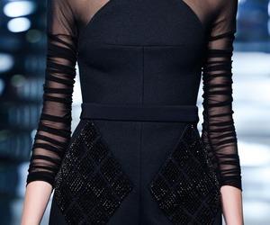 fashion, black, and Balenciaga image