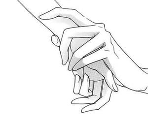 manga, hands, and anime image