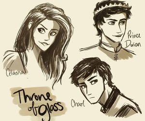book, throne of glass, and chaol image
