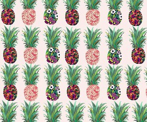 background, pineapple, and summer image