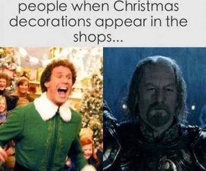 christmas, decorations, and funny image
