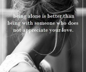 alone, appreciate, and done image