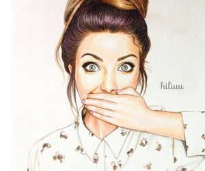 zoe, sugg, and youtuber image