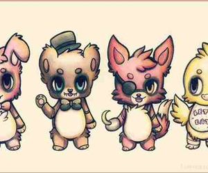 five nights at freddy's, Bonnie, and foxy image