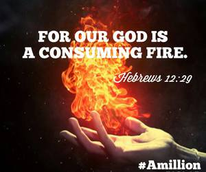 fire, god, and life image