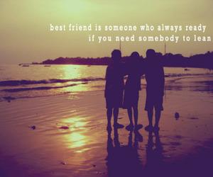 beach, best friends, and friendship image
