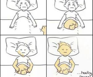 cat, sad, and animal image