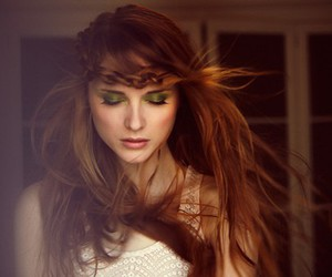 beauty, wind, and braid image