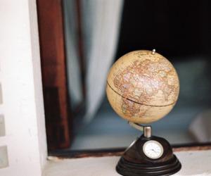 vintage and globe image