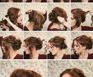 hair, step by step, and homecoming image