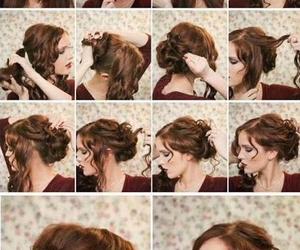 hair, homecoming, and idea image
