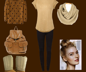 beautiful, clothes, and invierno image