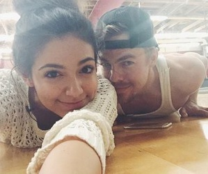 bethany mota, derek hough, and dancing with the stars image