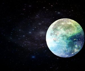 fantasy, moon, and space image