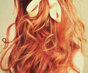 beauty, bow, and ginger image