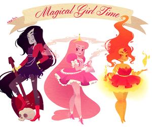 magical girl, adventure time, and hora de aventura image
