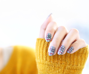 Burberry and nails image
