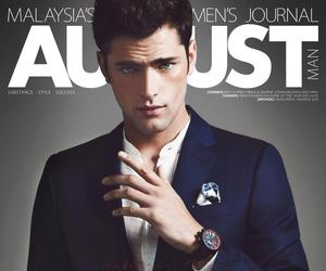 model, Sean O'Pry, and handsome image