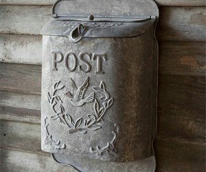 mail box and vintage image