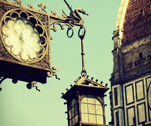 clock and vintage image