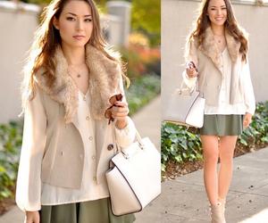 fashion, skirt, and fall image