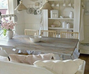 country living, white interiors, and farmhouse decor image