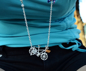 bike, photo, and neckles image