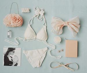 bikini, bag, and bow image