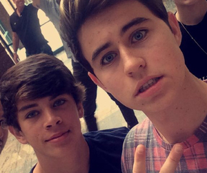 nash grier, hayes grier, and cameron dallas image