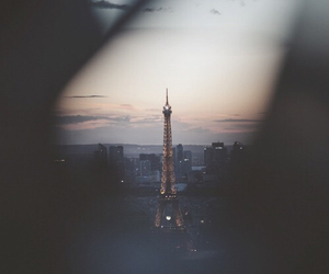 eiffel, travel, and love image