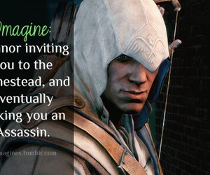 imagine, assassins creed 3, and connor kenway image