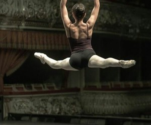 ballet, dance, and grand jete image