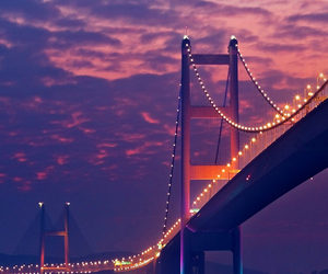 bridge, city, and wallpaper image