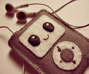 cute, music, and ipod image