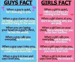 girl, facts, and boy image