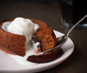 cake, chocolate, and dulce de leche image