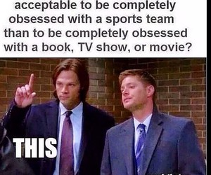 supernatural, fandom, and book image