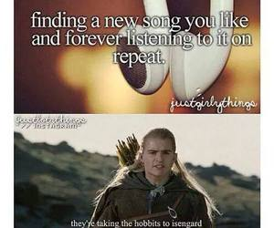 music, funny, and hobbit image