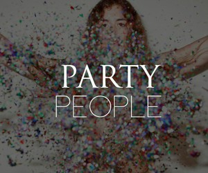 girl, party, and people image